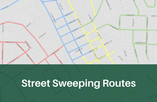 Street Sweeping Routes