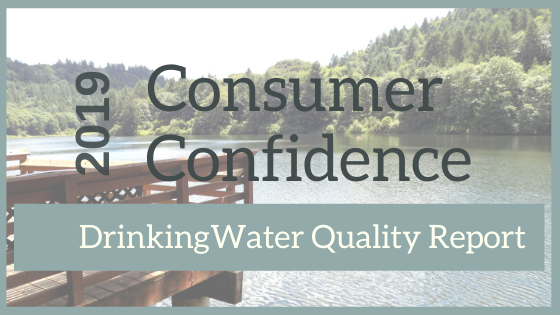 Annual Drinking Water Consumer Confidence Report